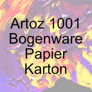 Artoz 1001 Bogenware - Papier/Karton