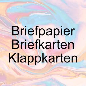 Farbige Briefkarten und Klappkarten - Artoz 1001