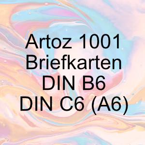 Artoz 1001 - Briefkarten - DIN B6 / DIN A6