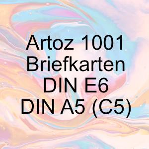 Artoz 1001 - Briefkarten DIN A5 / E6