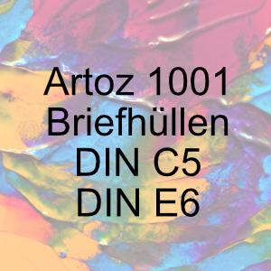 Artoz 1001 - Briefkuverts in C5 und E6